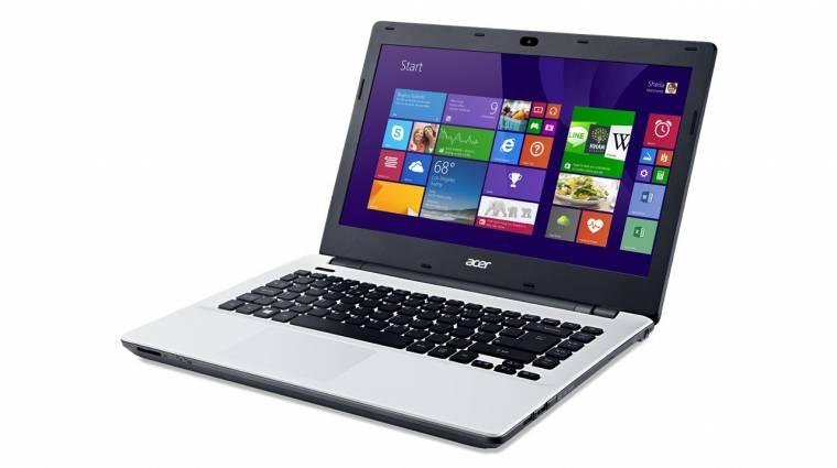 Videó: ilyen a megfizethető Acer Aspire E14 kép