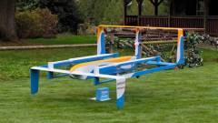 Így szállíthat az Amazon drónja a lábtörlődig kép