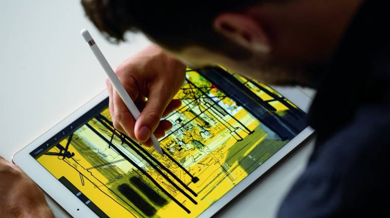 Még a héten piacra kerül az iPad Pro kép