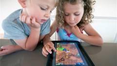 Már a 4 évesek is tableteznek kép