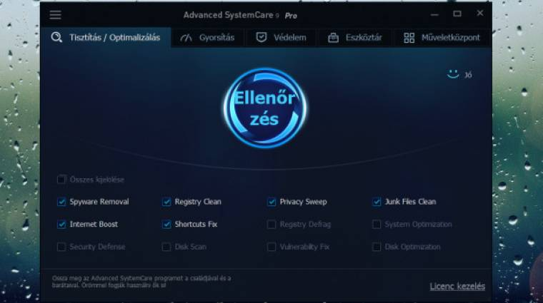 Teszt: IObit Advanced SystemCare 9 Pro - a karbantartó kisiparos kép