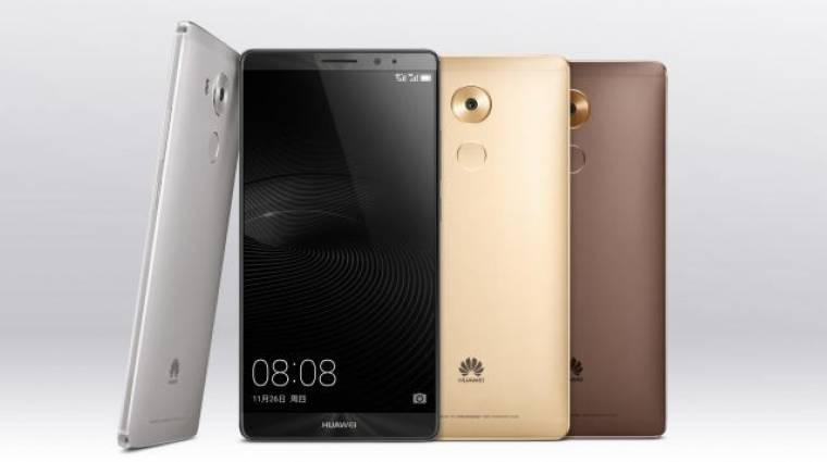 Hivatalosan is szörnyeteg lett a Huawei Mate 8 kép