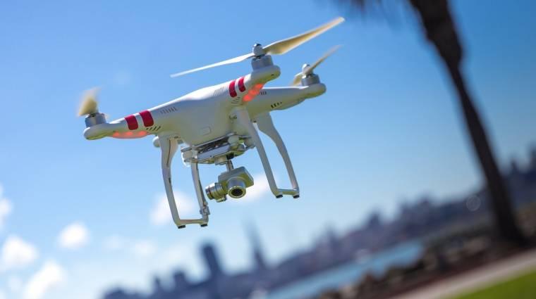 Többé nem lehet tiltott területre repülni a DJI drónokkal kép