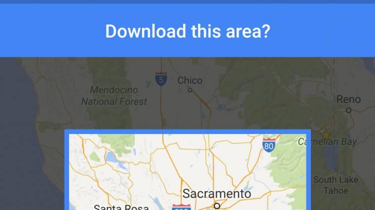 Országokat is letölthetsz a Google Térképpel kép