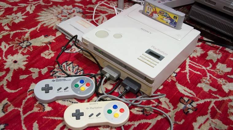 Videón a működőképes Nintendo PlayStation kép