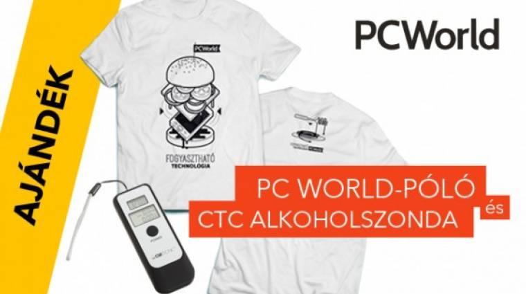 Karácsony PC World módra kép