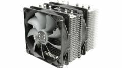 Kompakt és hatékony a Scythe Fuma CPU-hűtő kép