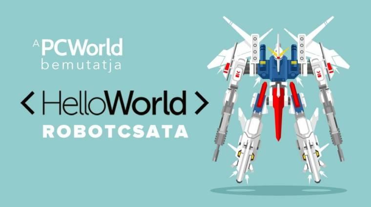 Jön az ország legnagyobb robotcsatája kép