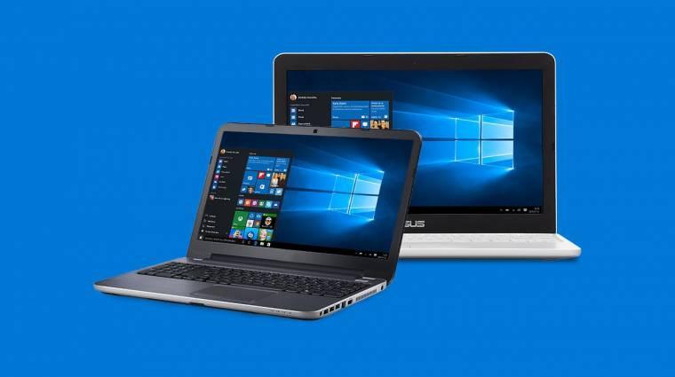 Tisztán is telepíthető az őszi frissítéses Windows 10 kép