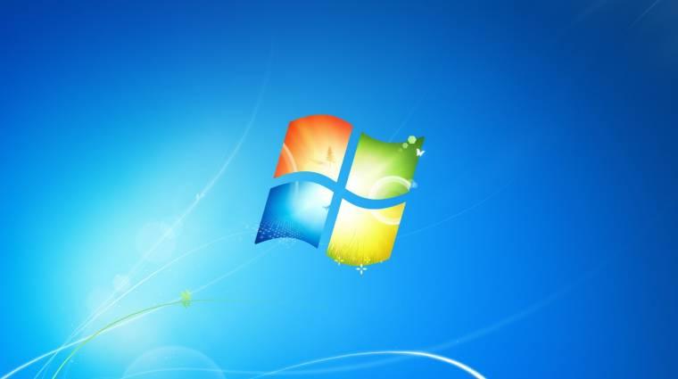 Az üzleti gépekről is eltűnik a Windows 7 kép