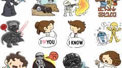 Megjöttek a Facebook Star Wars-matricái kép