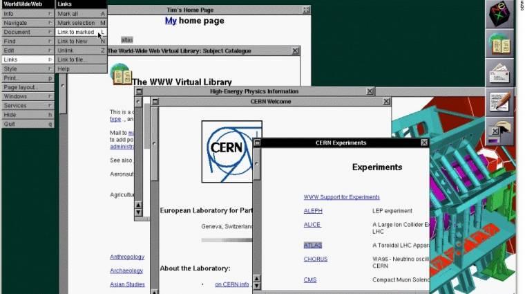 25 éves a világ első weboldala kép