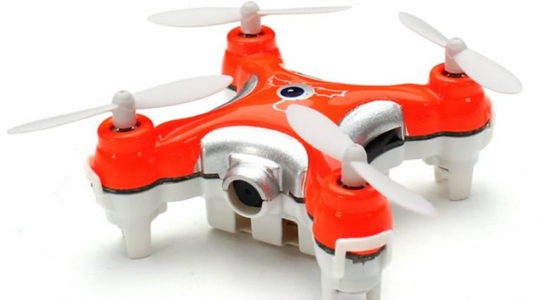 Aprópénzért videózik a repülő drón kép