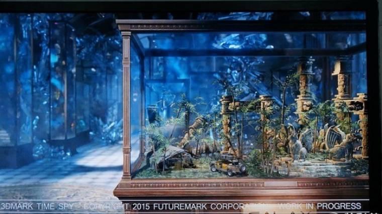 Kémvideón a következő 3DMark egyik DX12-es tesztje kép