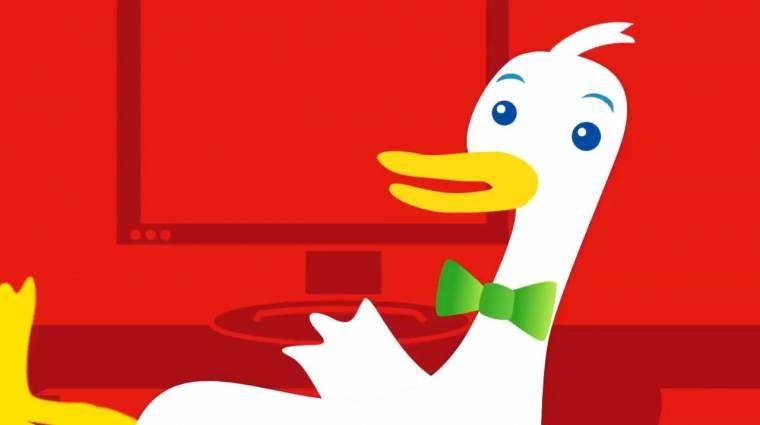 Egyre népszerűbb a DuckDuckGo kép