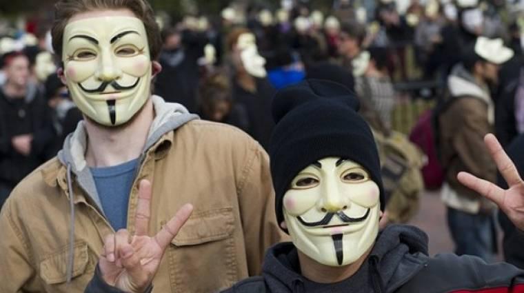 Lecsapott az Anonymous Törökországra kép