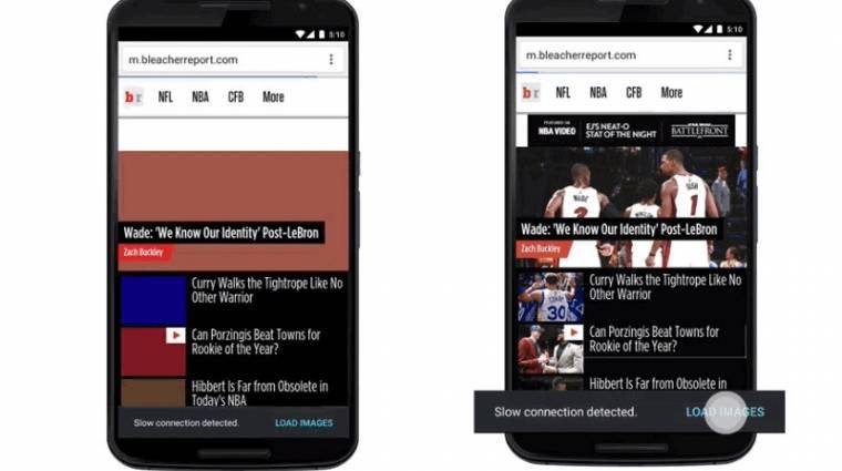 Új adatspórolási funkciót kap az androidos Chrome kép