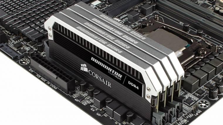 Gigantikusat zuhant pár hónap alatt a DDR4 ára kép