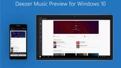 Úton a Deezer új Windows 10 alkalmazása kép