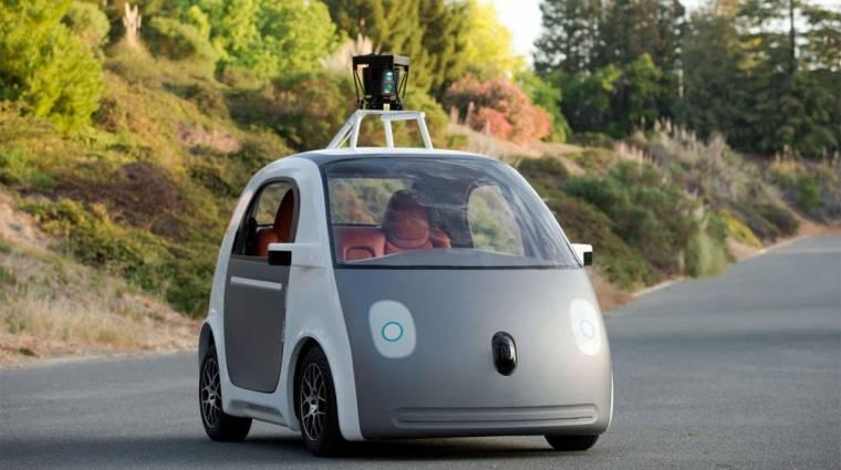 A Ford gyárthatja a Google önvezető autóit? kép
