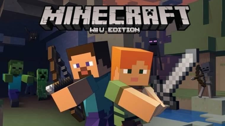 Wii U-ra megy a Minecraft kép