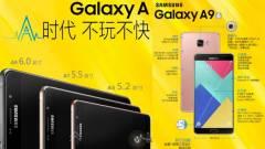 Bemutatkozott a prémium Samsung Galaxy A9 kép