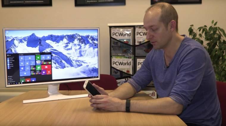 Videó: így tölt vezeték nélkül Samsung SE370 monitor kép