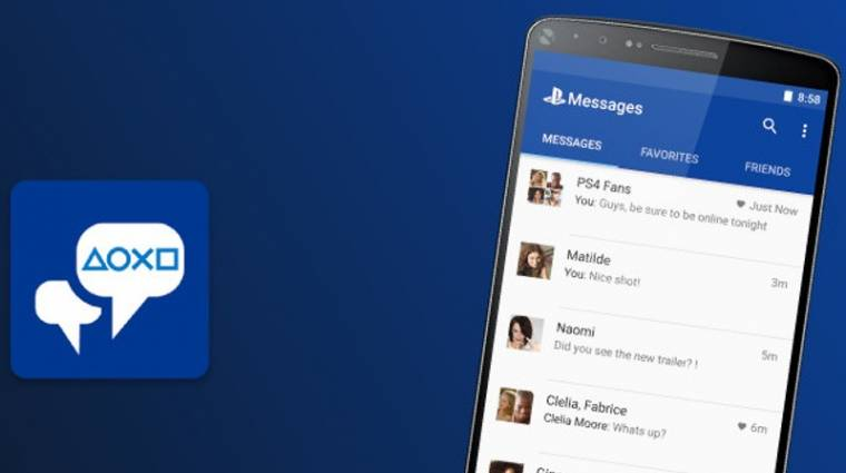Tölthető mobilokra a PlayStation Messages kép
