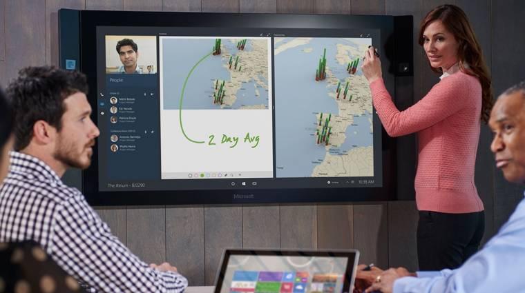 Késik és piszok drága lesz a Microsoft Surface Hub kép