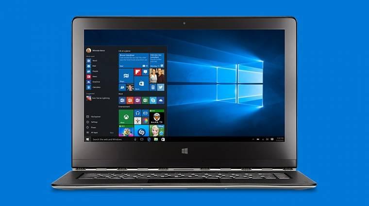 Telepíthető a Windows 10 Redstone első előzetese kép