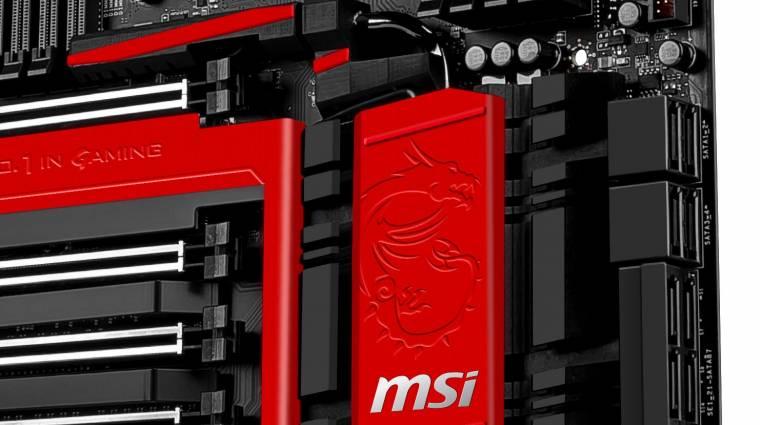 Profi gamer alaplapokkal frissített az MSI kép