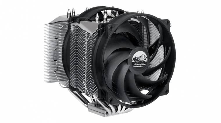 Prémium ikertornyokkal hűti a CPU-d az Alpenfohn Olymp kép