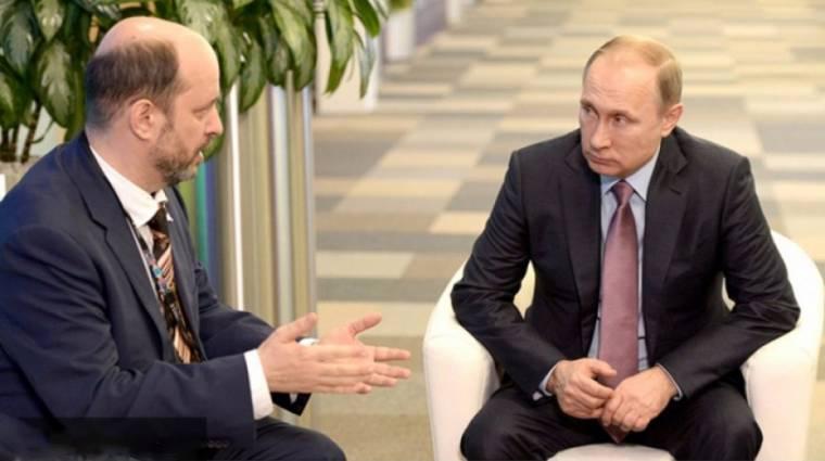 Torrentoldala is van Putyin netes tanácsadójának kép