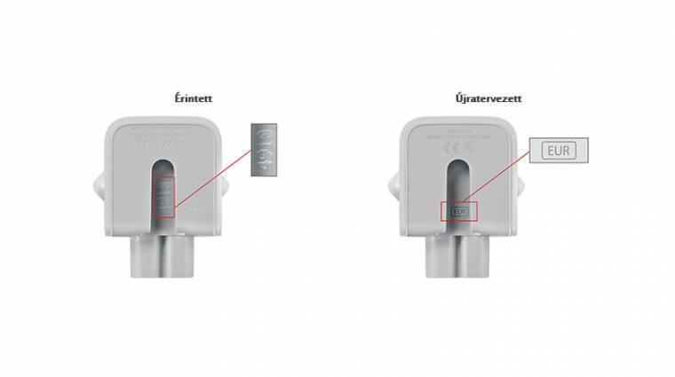 Európai hálózati adaptereket is visszahív az Apple kép