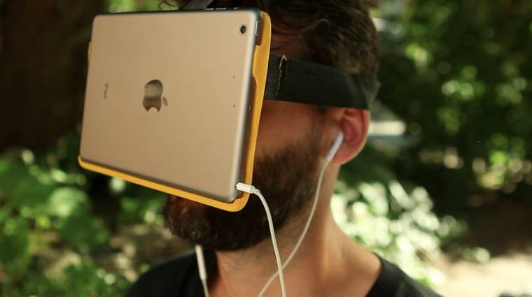 Titokban az Apple is virtuális valóságon dolgozik kép