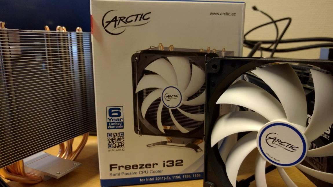 TESZT: Arctic Freezer i32 CPU-hűtő - Nem kell úgy bepörögni kép