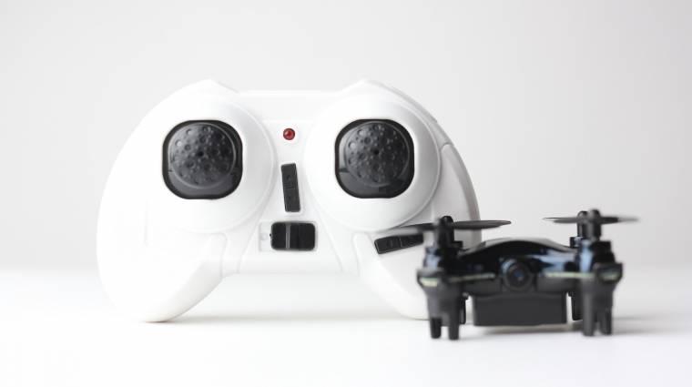 A tenyeredben is elfér a szupermini drón kép