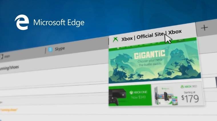 Az Edge böngésző esélye kép