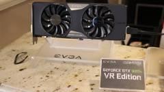 Előlapi panellel jön az EVGA GTX 980 Ti VR Edition kép