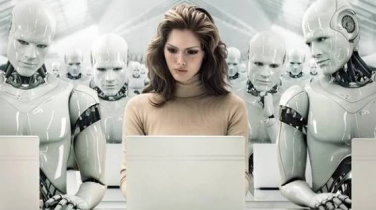 5 millió munkahelyet vesznek el a robotok és az AI-k kép