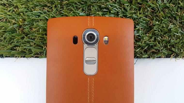 Komoly baj van az LG G4-gyel, de ingyen javítják kép