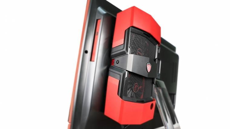 Asztali videokártya az MSI gamer egybegépében kép