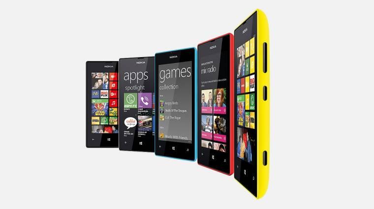 A Lumia 520 a legnépszerűbb kép