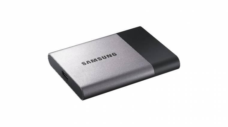 2 TB kapacitású külső SSD a Samsungtól kép