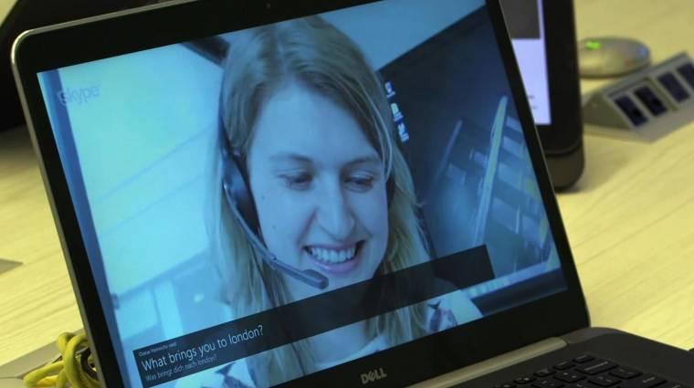 Hét nyelven fordít élőben a Skype kép