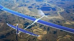 Napelemes Google-drón szórja a vezeték nélküli netet kép