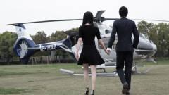 Gombnyomásra ad helikoptert az Uber kép
