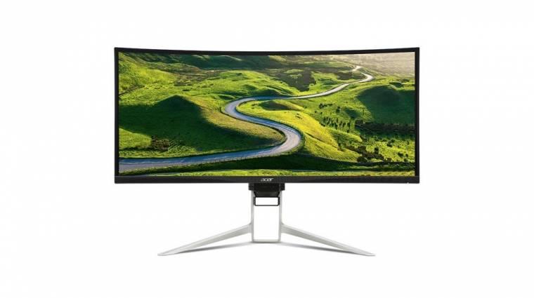 Ultravékony monitorokkal indította a CES-t az Acer kép