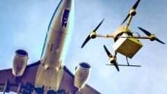 Hajszál híján drónnal ütközött az utasszállító kép