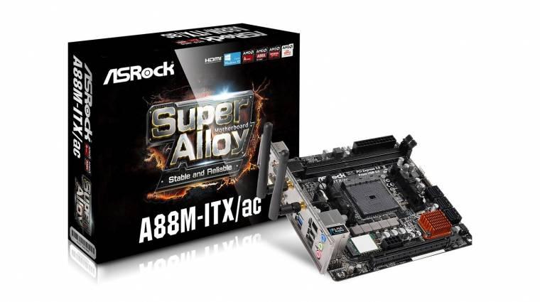 Apró ASRock alaplap az új AMD APU-khoz kép